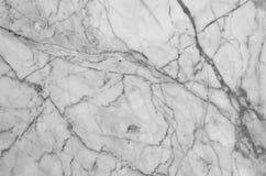 fundo de mármore natural preto e branco da textura do teste padrão Imagem de Stock