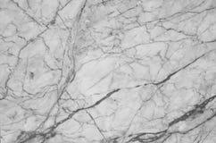 fundo de mármore natural preto e branco da textura do teste padrão Imagem de Stock Royalty Free