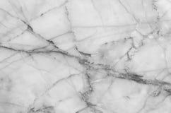fundo de mármore natural preto e branco da textura do teste padrão Imagens de Stock