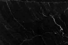 Fundo de mármore preto Fotos de Stock Royalty Free