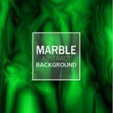 Fundo de mármore verde abstrato Imagem de Stock