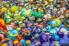 Fundo de mármores coloridos Imagens de Stock Royalty Free
