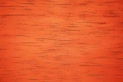 Fundo de madeira alaranjado de Grunge Fotos de Stock Royalty Free