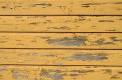 Fundo de madeira amarelo foto de stock royalty free