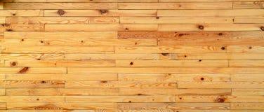 Fundo de madeira amarelo da textura do close up Foto de Stock