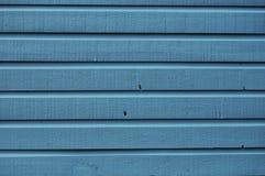 Fundo de madeira azul Foto de Stock