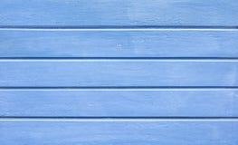 Fundo de madeira azul ciano - material de madeira da textura fotos de stock royalty free