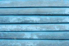 Fundo de madeira azul da textura Imagens de Stock