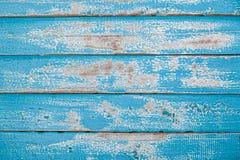 Fundo de madeira azul da textura do vintage Imagem de Stock Royalty Free