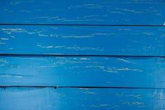 Fundo de madeira azul para anunciar Imagem de Stock Royalty Free