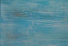 Fundo de madeira azul velho Fotos de Stock Royalty Free