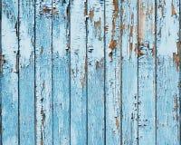 Fundo de madeira azul velho da prancha. Imagens de Stock Royalty Free