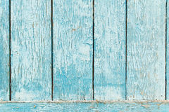 Fundo de madeira azul velho da prancha. Foto de Stock