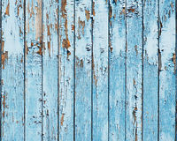 Fundo de madeira azul velho da prancha. Fotografia de Stock