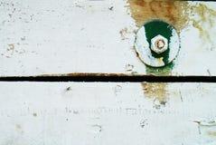 Fundo de madeira branco Fotos de Stock Royalty Free