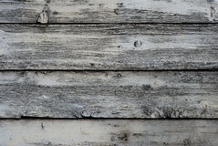 Fundo de madeira branco Imagens de Stock