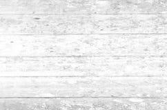 Fundo de madeira branco da parede Foto de Stock Royalty Free