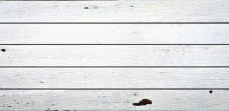 Fundo de madeira branco da textura Imagem de Stock