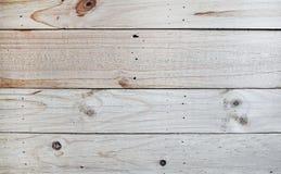 Fundo de madeira branco da textura Foto de Stock Royalty Free