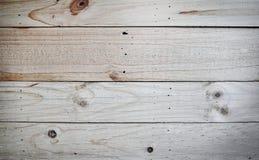Fundo de madeira branco da textura Fotografia de Stock Royalty Free