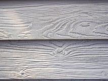 Fundo de madeira branco da textura Imagens de Stock