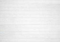 Fundo de madeira branco da textura da parede Fotos de Stock Royalty Free
