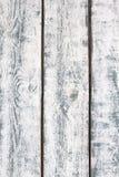 Fundo de madeira branco da textura da parede Fotografia de Stock