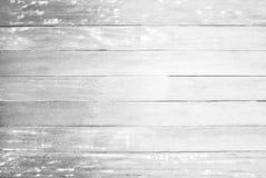 Fundo de madeira branco da textura do assoalho parede pintada cor pastel da superfície do teste padrão da prancha; foto de stock