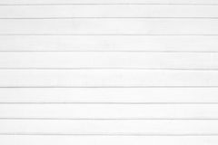 Fundo de madeira branco da textura do Grunge Foto de Stock Royalty Free