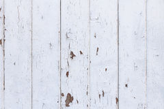 Fundo de madeira branco da textura no estilo chique gasto Imagem de Stock Royalty Free