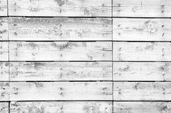 Fundo de madeira branco das pranchas Fotografia de Stock Royalty Free