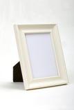 Fundo de madeira branco do branco do frame foto de stock royalty free