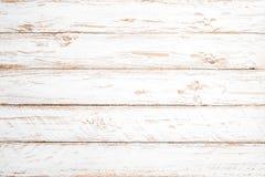 Fundo de madeira branco do vintage Imagens de Stock Royalty Free