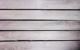 Fundo de madeira branco do vintage velho Vista superior imagens de stock