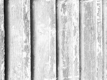 Fundo de madeira branco Textura e teste padrão do bloco do branco e do preto Fotos de Stock Royalty Free