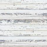 Fundo de madeira branco velho da prancha Imagem de Stock Royalty Free
