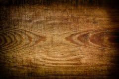 Fundo de madeira de Brown Fotografia de Stock