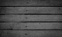 Fundo de madeira cinzento Foto de Stock Royalty Free