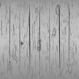 Fundo de madeira cinzento Ilustração Stock