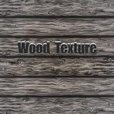 Fundo de madeira cinzento da prancha Imagem de Stock Royalty Free