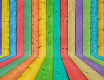 Fundo de madeira colorido fotografia de stock royalty free