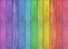 Fundo de madeira colorido abstrato da textura Imagens de Stock