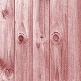 Fundo de madeira cor-de-rosa da cerca Imagens de Stock Royalty Free
