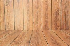 fundo de madeira da apresentação Fotos de Stock Royalty Free