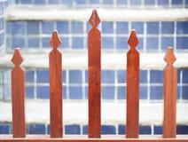 Fundo de madeira da cerca Imagem de Stock Royalty Free