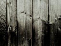 fundo de madeira da cerca, sumário de madeira surpreendente branco do efect do preto do papel de parede da textura Foto de Stock Royalty Free