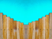 Fundo de madeira da etapa Fotos de Stock