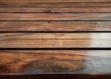 Fundo de madeira da grão da prancha da textura, tabela de madeira da mesa ou assoalho foto de stock royalty free