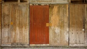 Fundo de madeira da parede da madeira Imagem de Stock