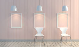 Fundo de madeira da parede da cor pastel Foto de Stock Royalty Free